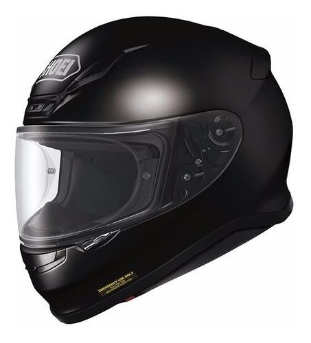 casco shoei integral nxr negro brillante black gloss