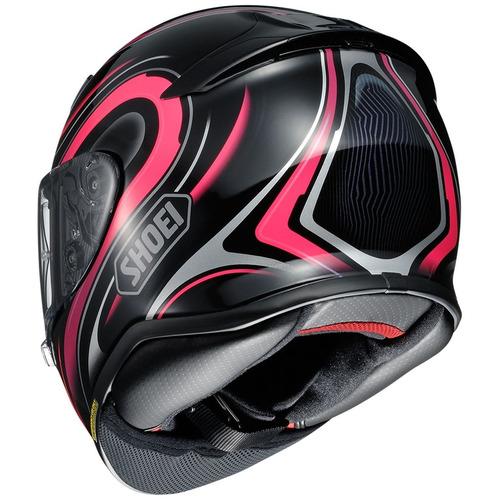 casco shoei rf-1200 intense rostro completo rosa lg