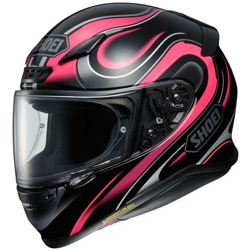 casco shoei rf-1200 intense rostro completo rosa md