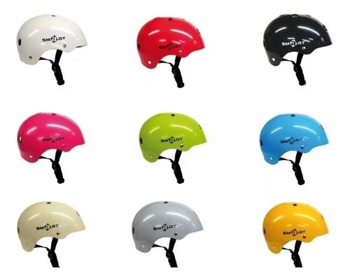 casco smart protección roller bicicleta skate longboard