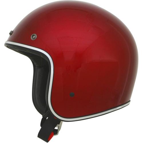 casco sólido afx fx-76 rostro abierto manzana de caramelo lg