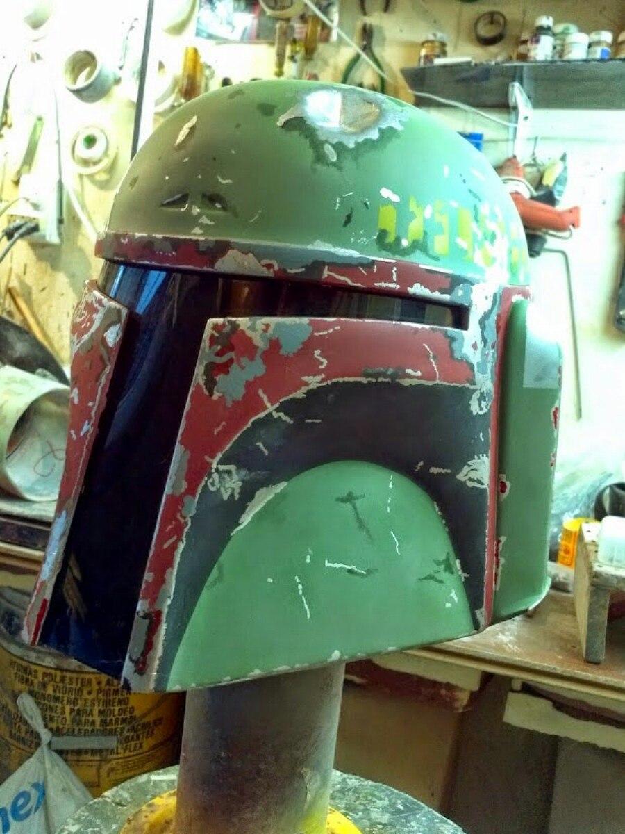 Casco Star Wars Boba Fett Jango Fett - $ 1,800.00 en Mercado Libre