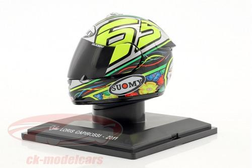 casco suomy loris capirossi moto gp 2011 moto coleccion
