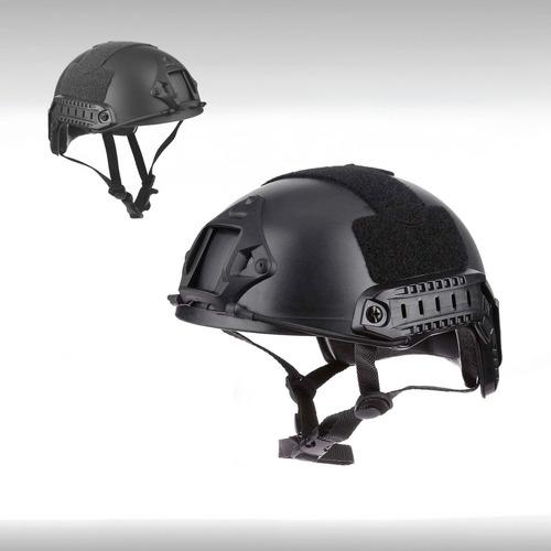 casco tactico militar moto riesgo escalada vertical airsoft