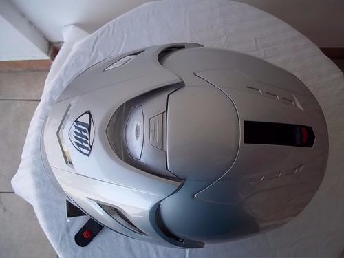 casco thh t-378 con vicera transp. lente, talla s