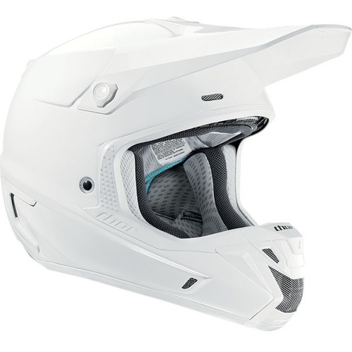 casco thor verge 2014 mx/offroad blanco 2xl