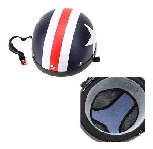 casco tipo alemán con antiparras bufanda para motocicleta