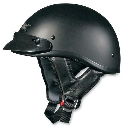 casco tipo boina afx fx-70 sólido negro mate 2xl