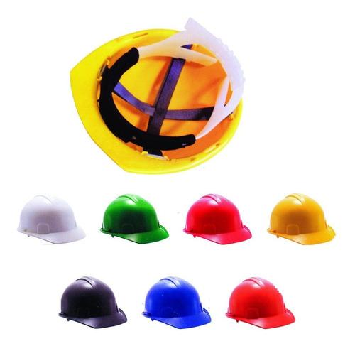 casco tipo cachucha 4 apoyos rojo weld well suspension texti
