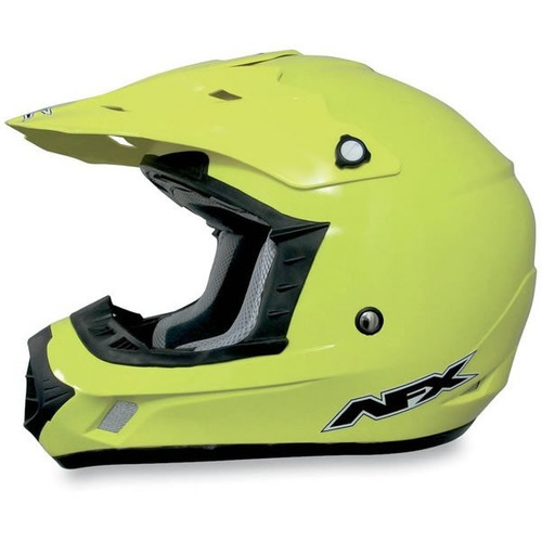 casco todoterreno afx fx-17 mx sólido amarillo visible 4xl