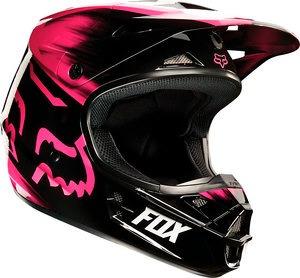 casco todoterreno fox racing v1 vandal 2015 mujer rosada 2xl