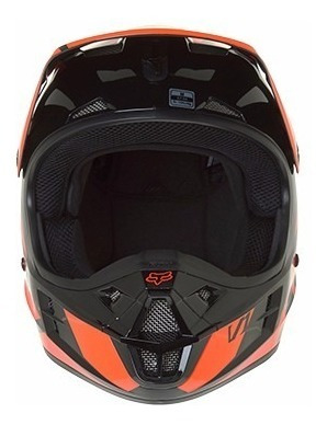 casco v1 ** off ** race helmet adulto motocross naranja fox