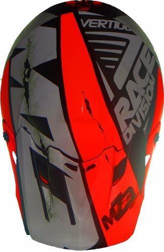 casco vertigo mz3 rd off road + pechera rpm. en gravedadx