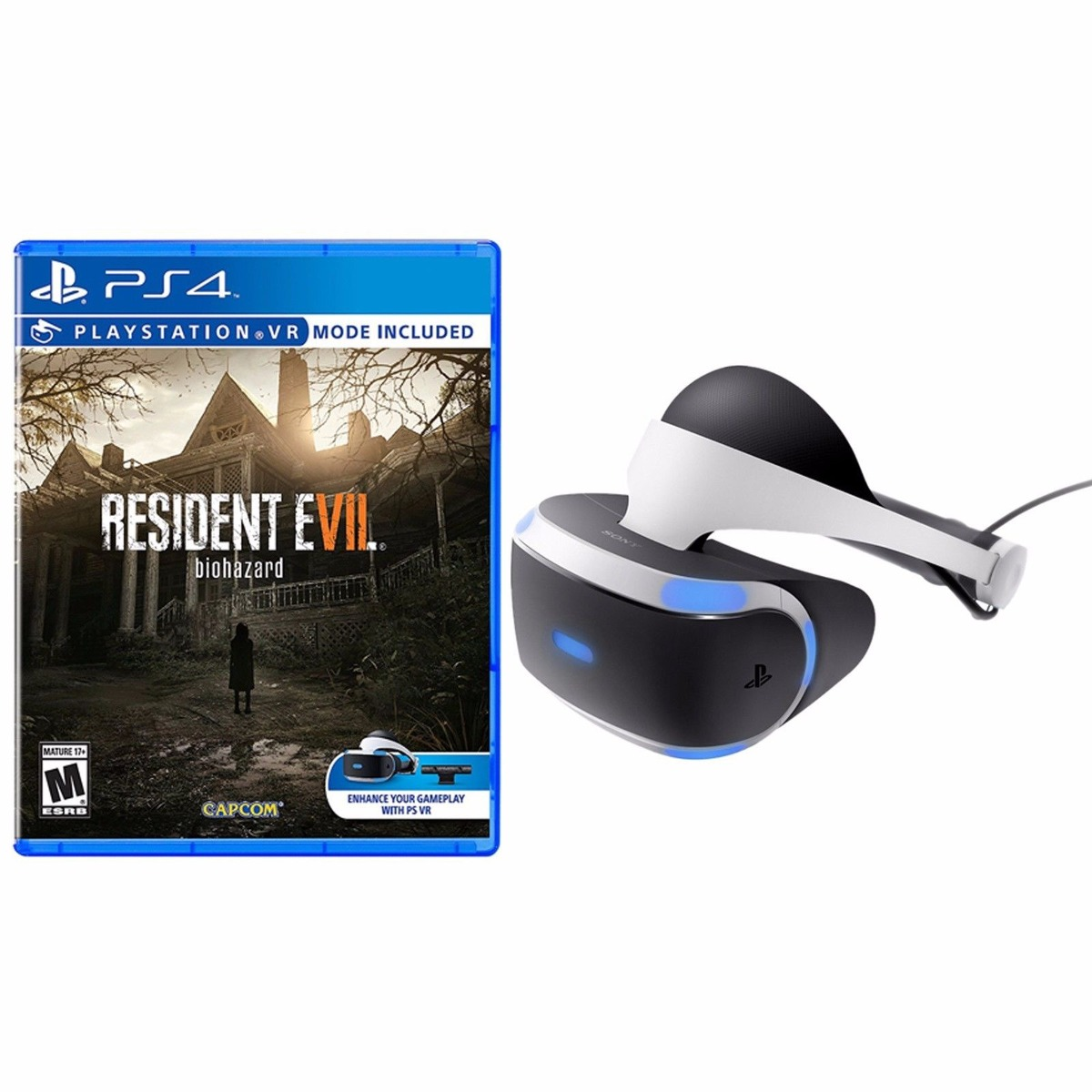 Casco Vr Realidad Virtual Play Station 4 Resident Evil