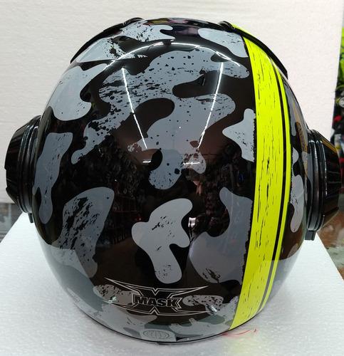 casco x-mask   camu rider one