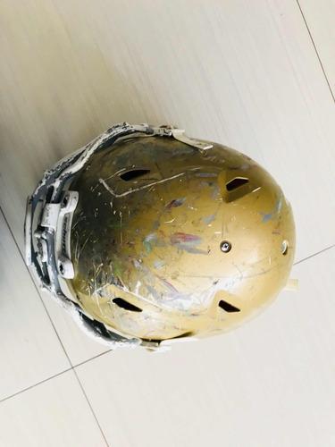 casco y hombreras schutt usado