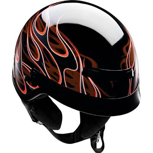 casco z1r nomad hellfire negro/naranja 2xs