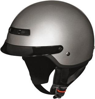 casco z1r nomad macizo plateado xs