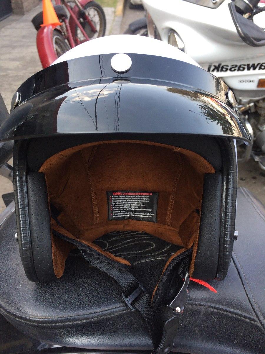 Cascos Caf 233 Racer O Chopper Certificados Dot 1 164 00