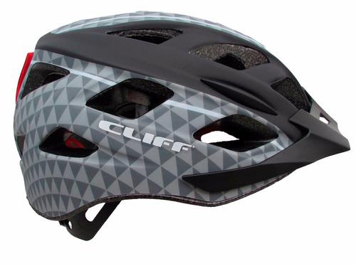 cascos cliff con luz trasera ciclismo bicicletas montaña mtb