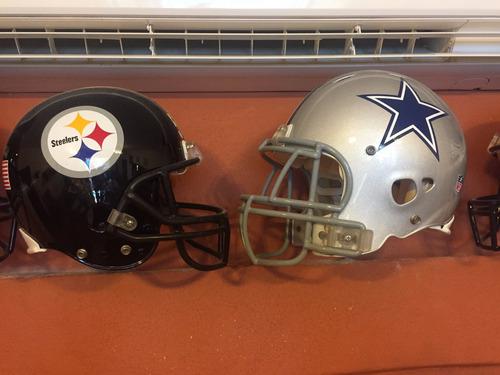 cascos de coleccion de diferentes modelos futbol americano