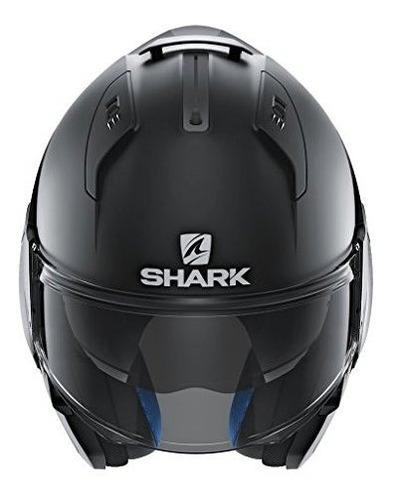 cascos de tiburon evoone 2 casco modular mate en blanco