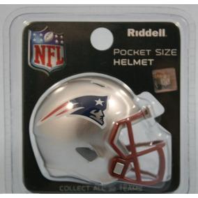 2f2a937361a8e Mini Casco Nfl Pocket Helmet Patriotas New England