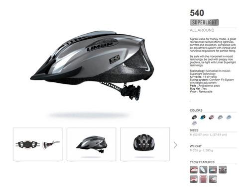 cascos limar 540°- black titanium