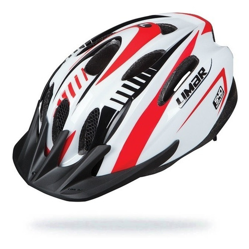 cascos limar 540°- white red