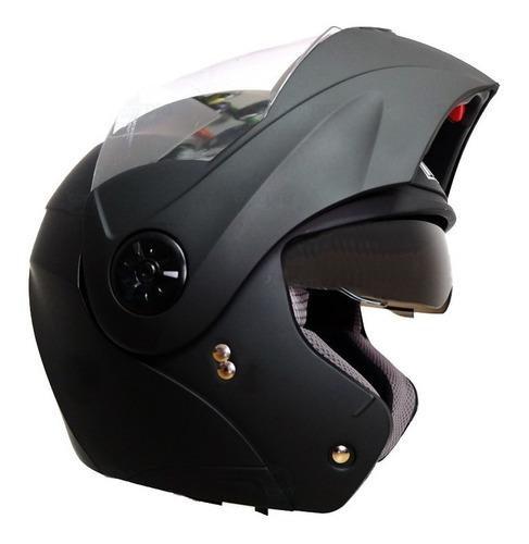 cascos moto abatible