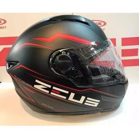 cc7df98efdaec Casco Zeus Negro Mate Impecable (fotos Reales) - Cascos para Motos ...