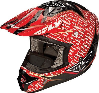 cascos motos motocross kinetic pro aurora - fly racing