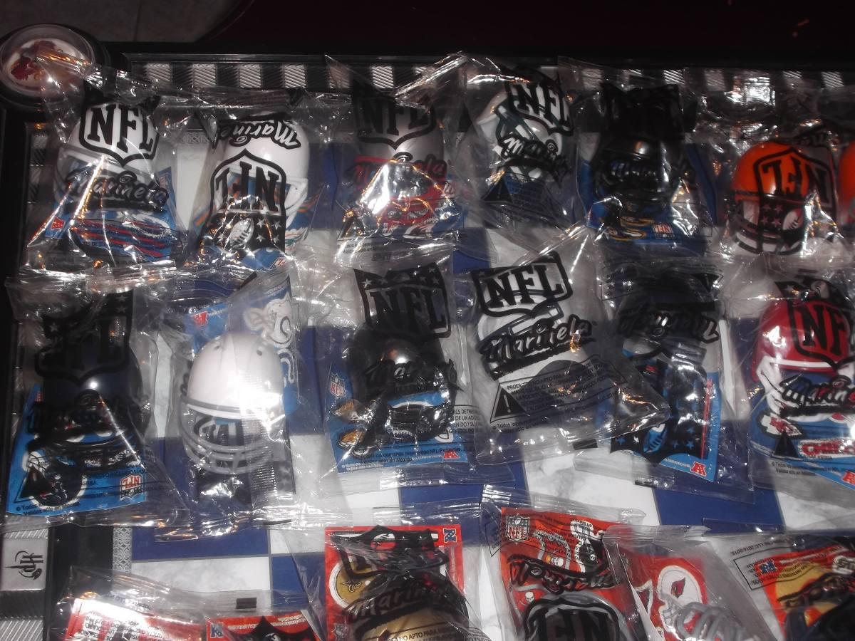 Cascos Nfl Marinela Todos Los Equipos 15 00 En Mercado