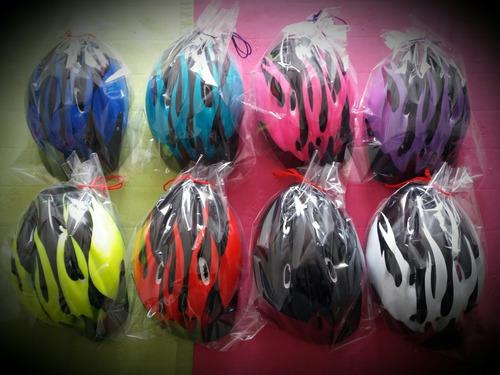 cascos nuevos bicicleta o patinaje con ajustador