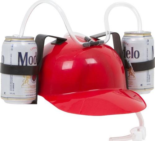 cascos porta latas