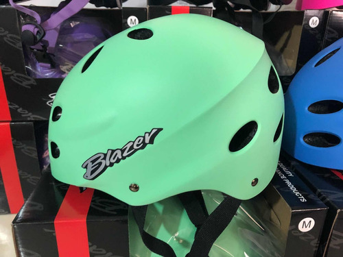 cascos protectores blazer para patinaje, skateboarding y bmx