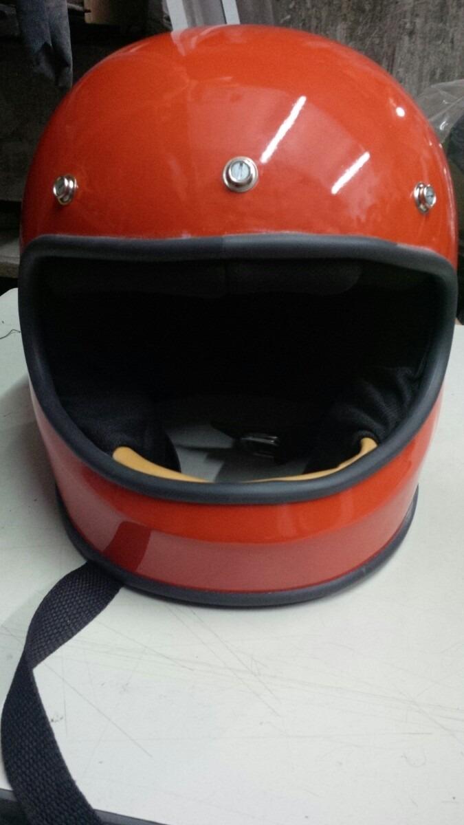 Cascos Retro Fullface Gringo Chopper Harley Vespa 1