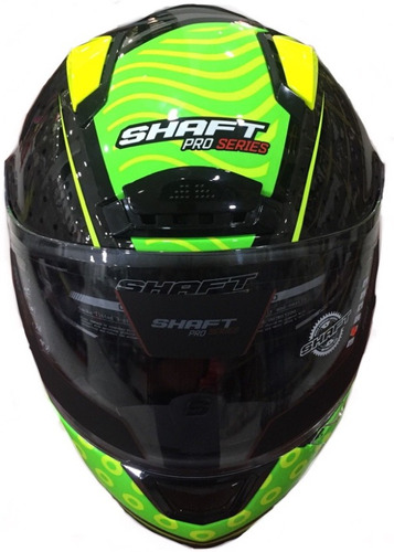cascos shaft pro sh-577 doble visor certificado + pinlock
