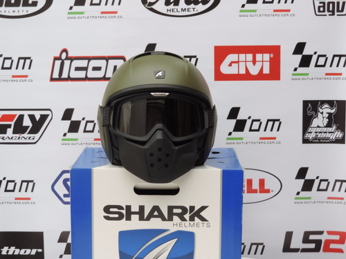 cascos shark raw super promo talla m nuevos!!!