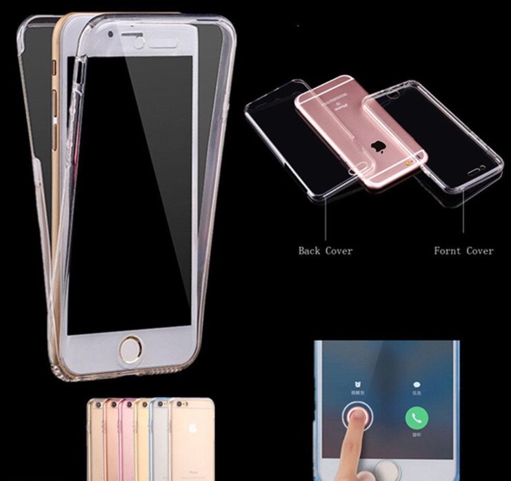 fc00ee32f9d Case 360 Tpu iPhone 7 Plus Apple Funda Protector - $ 180.00 en ...