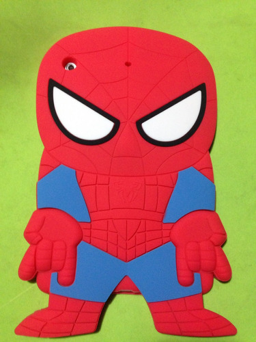 case 3d tpu mini ipad minions estuche spiderman batman
