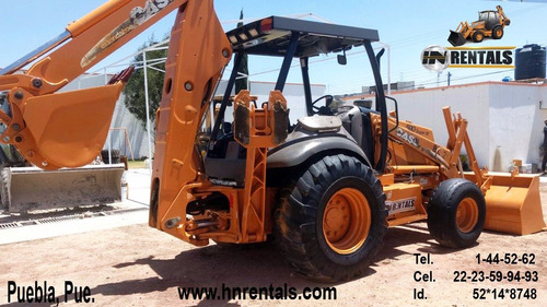 case 590 super m 2003 traccion  4x2 con extension