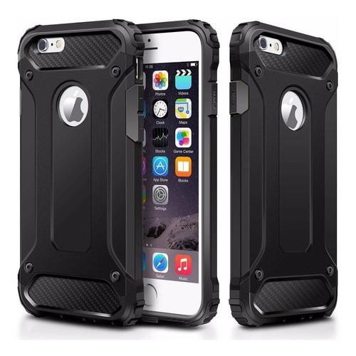 case anti impacto  iphone 6 / iphone 7 + mica vidrio
