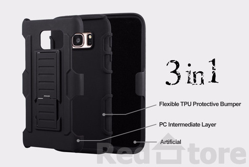 case armor holster clip samsung galaxy s4/s5/s6/s6ed/s7/s7ed
