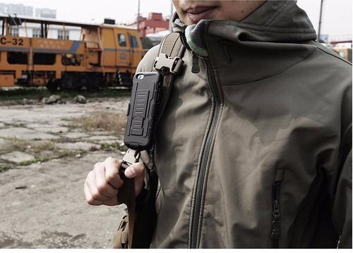 case armor lg stylus 3 carcasa funda parante gancho nuevo