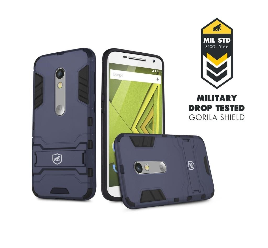 wholesale dealer ec9c2 87e8b Case Armor Para Motorola Moto X Play - Gorila Shield