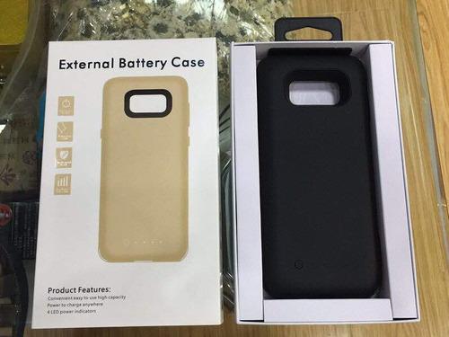 case bateria cargador samsung s8 de 5000mah