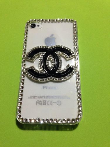 case brillo iphone 4 4s hello kitty channel transparente tpu