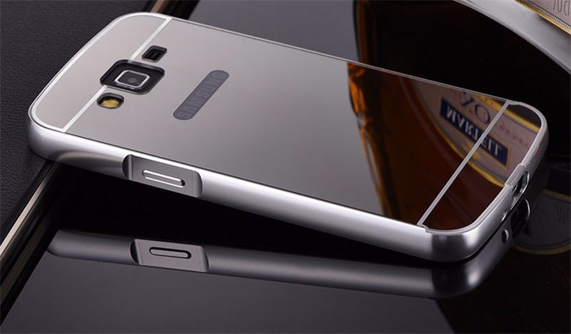 Case bumper aluminio espejo galaxy grand prime g530 53x sty s 40 00 en mercado libre - Aluminio espejo ...