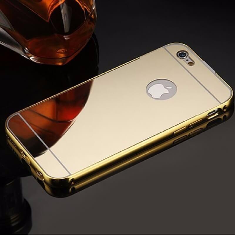 fa0e227c8ef Case Bumper Aluminio Espejo Para iPhone 6/6s+ Plus - S/ 25,00 en ...